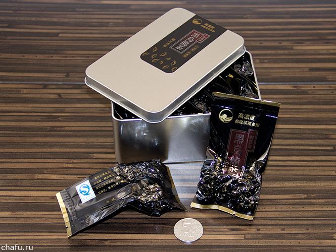 Упаковка черного тегуаньиня