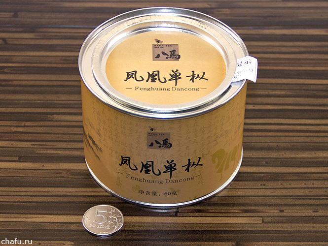 Упаковка фэнхуан даньцуна от Bama Tea