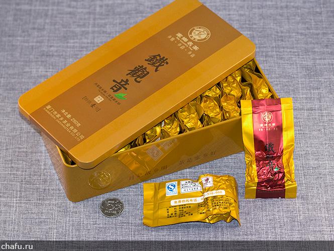 Упаковка чуньсян тегуаньиня