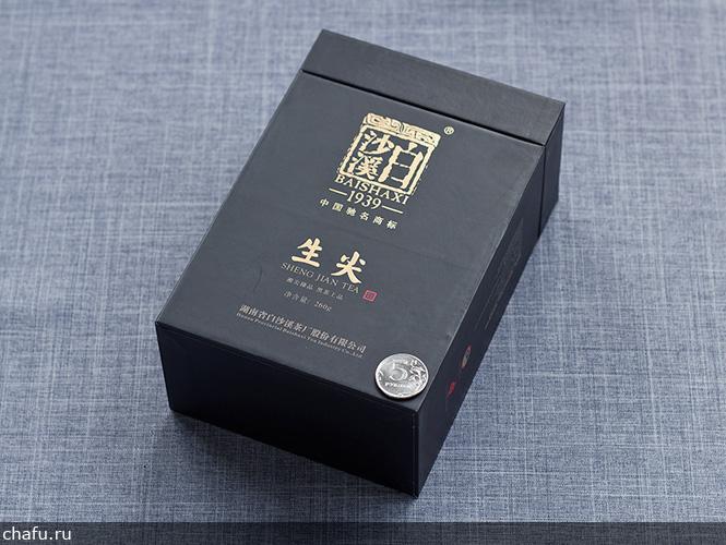 Упаковка черного чая Байшаси