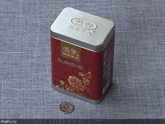 Упаковка кудрявой красной сливы