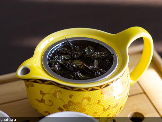 Заливаем иван-чай водой