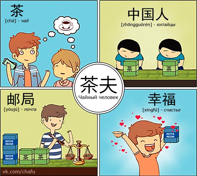Комикс про совместные закупки чая