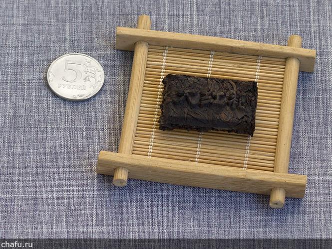 Прессованный дахунпао от Fu Tea Store
