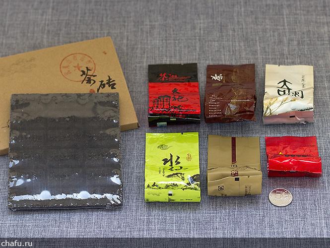 Пробники от магазина Fu Tea Store