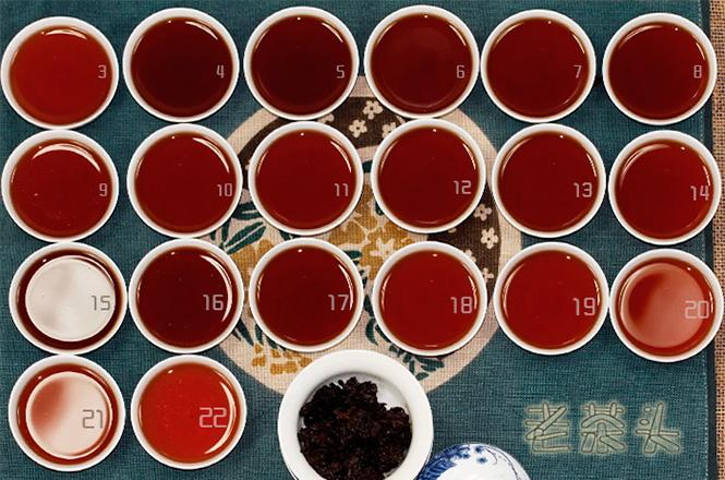 22 пролива чайных голов
